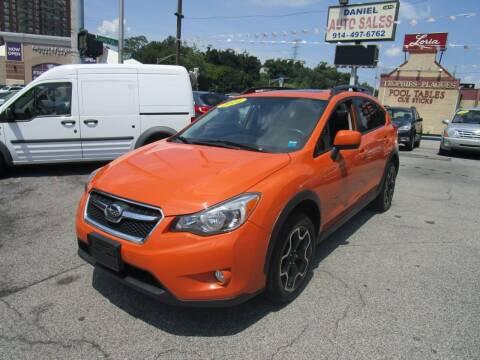 2014 Subaru XV Crosstrek for sale at Daniel Auto Sales in Yonkers NY