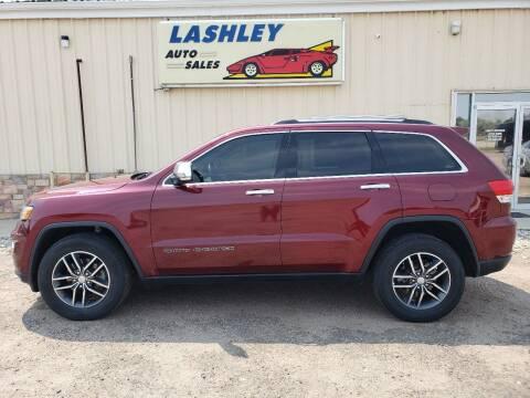 2018 Jeep Grand Cherokee for sale at Lashley Auto Sales in Mitchell NE