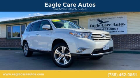 2013 Toyota Highlander for sale at Eagle Care Autos in Mcpherson KS