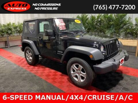 2018 Jeep Wrangler JK for sale at Auto Express in Lafayette IN