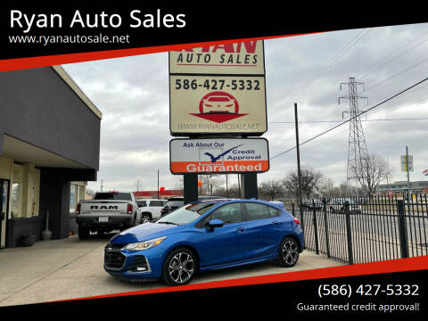 2019 Chevrolet Cruze for sale at Ryan Auto Sales in Warren MI