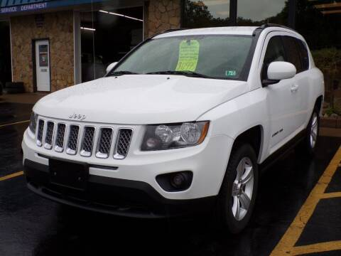2014 Jeep Compass for sale at Rogos Auto Sales in Brockway PA