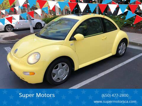 2001 Volkswagen New Beetle for sale at Super Motors in San Mateo CA