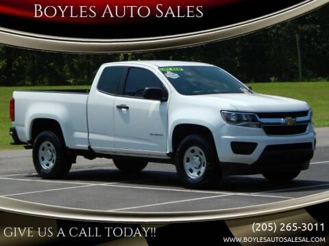 2018 Chevrolet Colorado for sale at Boyles Auto Sales in Jasper AL