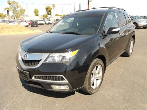 2011 Acura MDX for sale at COUNTRY CLUB CARS in Mesa AZ