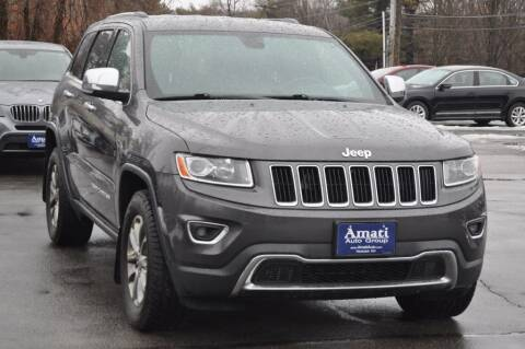 2014 Jeep Grand Cherokee for sale at Amati Auto Group in Hooksett NH