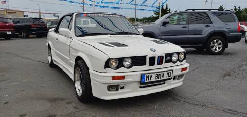 1989 BMW 3 Series for sale at I-80 Auto Sales in Hazel Crest IL
