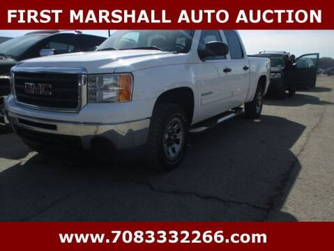 2011 GMC Sierra 1500 for sale at First Marshall Auto Auction in Harvey IL
