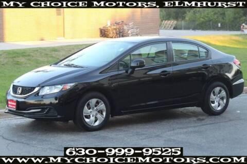 2013 Honda Civic for sale at My Choice Motors Elmhurst in Elmhurst IL