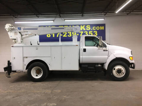 2001 Ford F-650 Super Duty for sale at DKR Trucks in Arlington TX