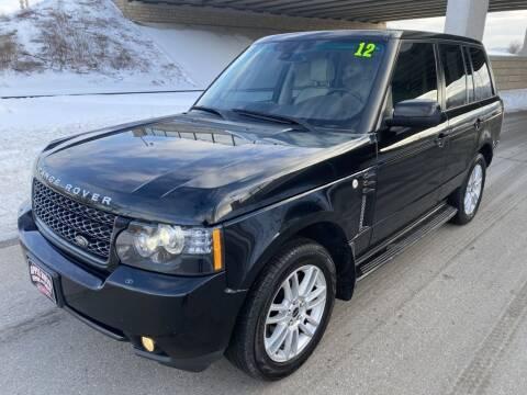 2012 Land Rover Range Rover for sale at Apple Auto in La Crescent MN