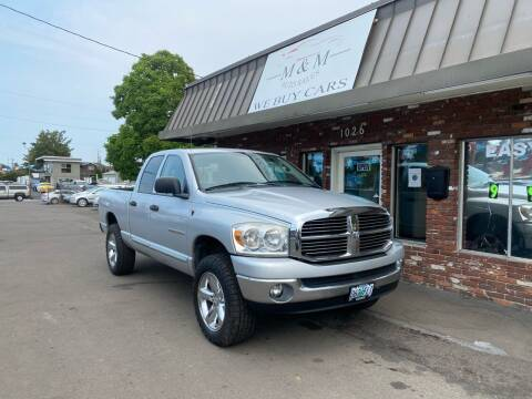2007 Dodge Ram Pickup 1500 for sale at M&M Auto Sales in Portland OR