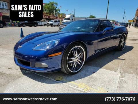 2007 Chevrolet Corvette for sale at SAM'S AUTO SALES in Chicago IL