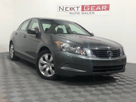 2009 Honda Accord for sale at Next Gear Auto Sales in Westfield IN