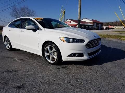 2016 Ford Fusion for sale at Moores Auto Sales in Greeneville TN