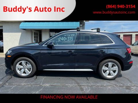 2018 Audi Q5 for sale at Buddy's Auto Inc in Pendleton SC