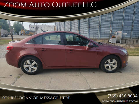 2012 Chevrolet Cruze for sale at Zoom Auto Outlet LLC in Thorntown IN