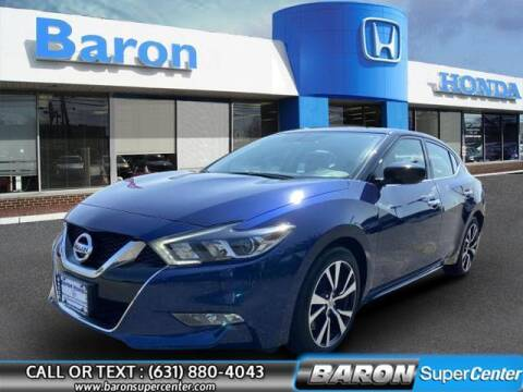 2018 Nissan Maxima for sale at Baron Super Center in Patchogue NY