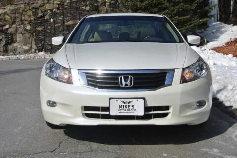 2008 Honda Accord for sale at Mike's Motor Group in Tyngsboro MA