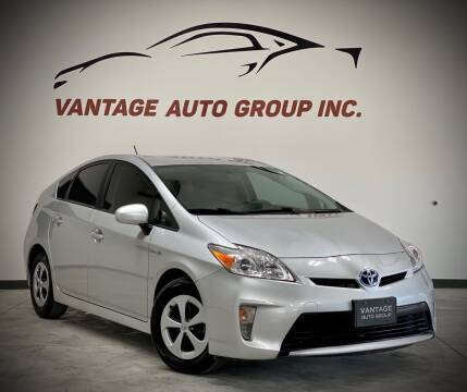 2015 Toyota Prius for sale at Vantage Auto Group Inc in Fresno CA