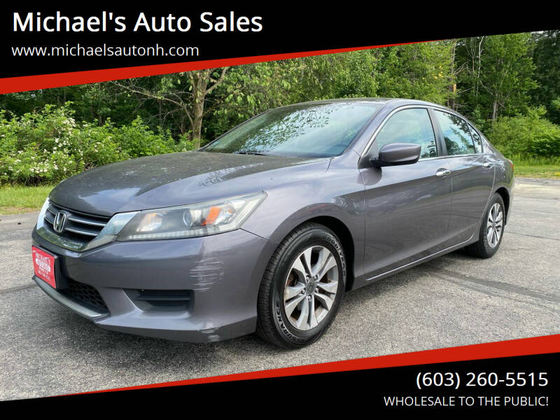 2014 Honda Accord for sale at Michael's Auto Sales in Derry NH