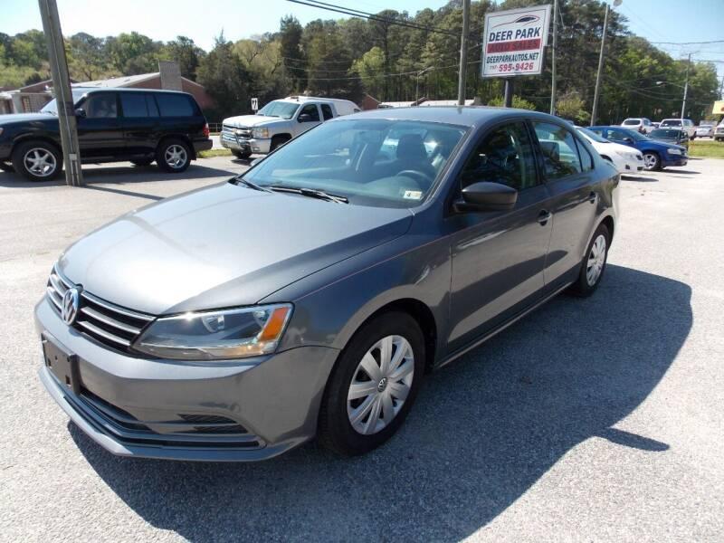 2015 Volkswagen Jetta for sale at Deer Park Auto Sales Corp in Newport News VA