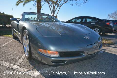 2003 Chevrolet Corvette for sale at Top Classic Cars LLC in Fort Myers FL