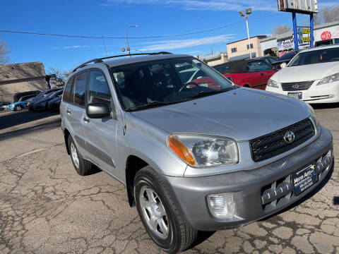 2002 Toyota RAV4 for sale at Mister Auto in Lakewood CO