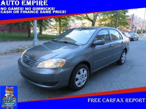 2007 Toyota Corolla for sale at Auto Empire in Brooklyn NY