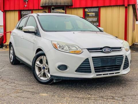 2014 Ford Focus for sale at MAGNA CUM LAUDE AUTO COMPANY in Lubbock TX