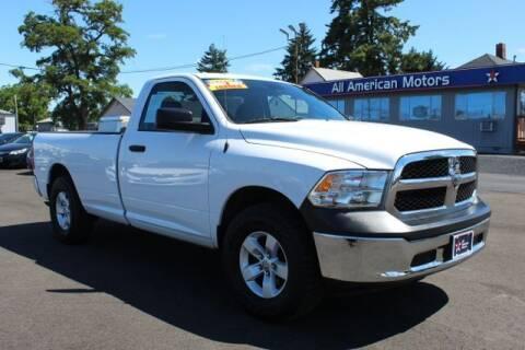 2014 RAM Ram Pickup 1500 for sale at All American Motors in Tacoma WA
