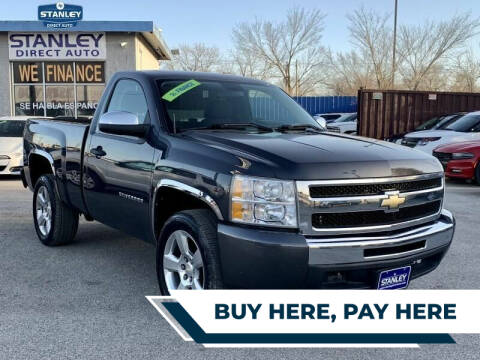 2011 Chevrolet Silverado 1500 for sale at Stanley Direct Auto in Mesquite TX
