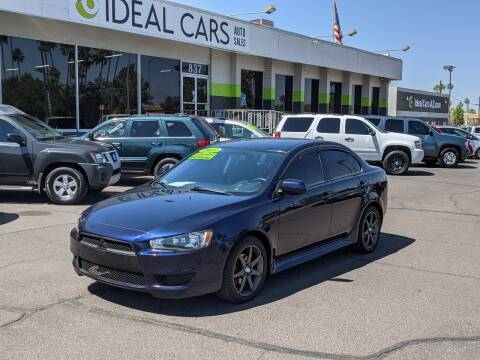 2013 Mitsubishi Lancer for sale at Ideal Cars in Mesa AZ
