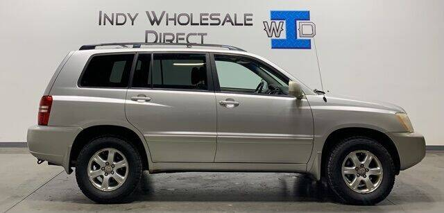 2002 Toyota Highlander for sale at Indy Wholesale Direct in Carmel IN