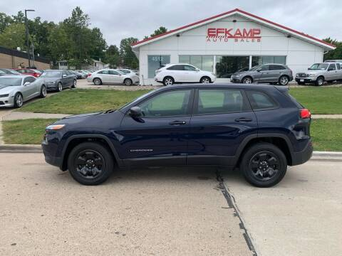 2015 Jeep Cherokee for sale at Efkamp Auto Sales LLC in Des Moines IA