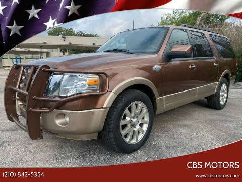 2011 Ford Expedition EL for sale at CBS MOTORS in San Antonio TX