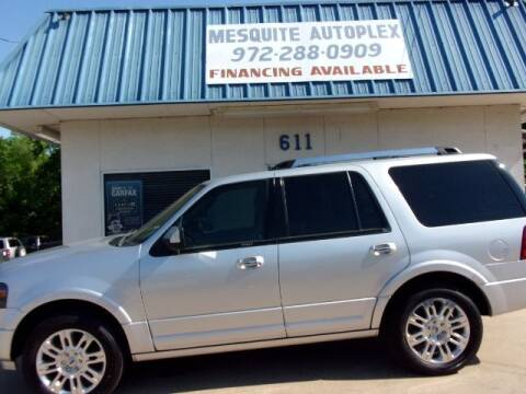 2012 Ford Expedition for sale at MESQUITE AUTOPLEX in Mesquite TX