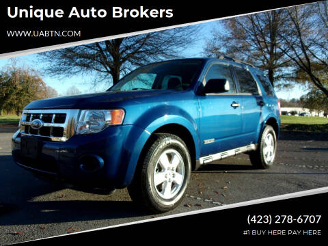2008 Ford Escape for sale at Unique Auto Brokers in Kingsport TN