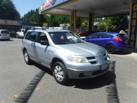2006 Mitsubishi Outlander for sale at Brooks Motor Company, Inc in Milwaukie OR