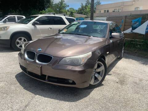 2006 BMW 5 Series for sale at Blue Ocean Auto Sales LLC in Tampa FL