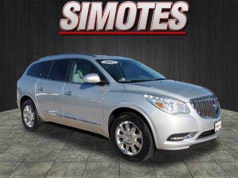 2017 Buick Enclave for sale at SIMOTES MOTORS in Minooka IL