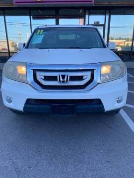 2011 Honda Pilot for sale at Greenville Motor Company in Greenville NC