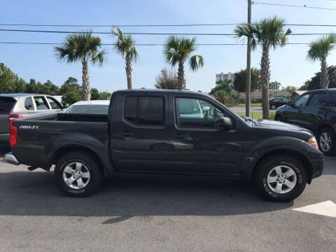 2013 Nissan Frontier for sale at Gulf Financial Solutions Inc DBA GFS Autos in Panama City Beach FL