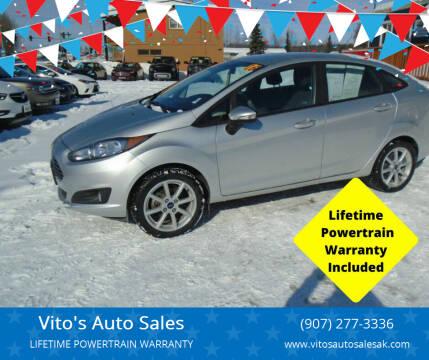 2016 Ford Fiesta for sale at Vito's Auto Sales in Anchorage AK