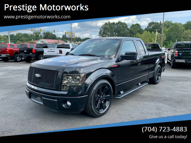 2012 Ford F-150 for sale at Prestige Motorworks in Concord NC