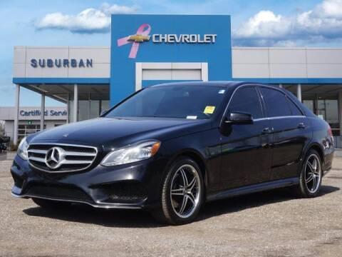 2014 Mercedes-Benz E-Class for sale at Suburban Chevrolet of Ann Arbor in Ann Arbor MI