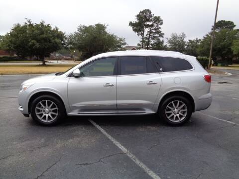 2016 Buick Enclave for sale at BALKCUM AUTO INC in Wilmington NC