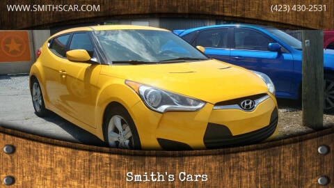 2012 Hyundai Veloster for sale at Smith's Cars in Elizabethton TN