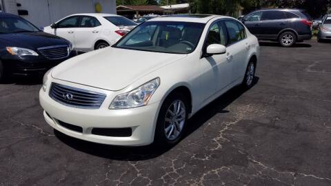2008 Infiniti G35 for sale at Nonstop Motors in Indianapolis IN