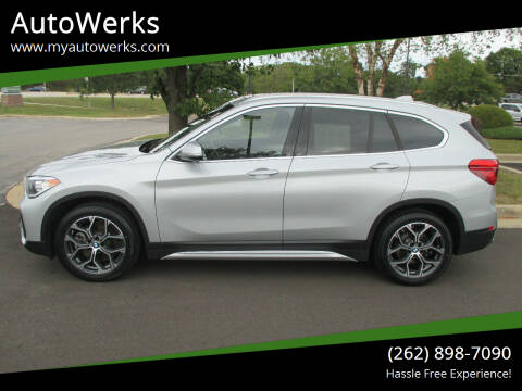 2020 BMW X1 for sale at AutoWerks in Sturtevant WI